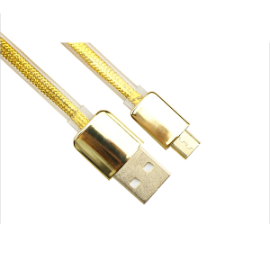 VCOM Gold Color USB AM TO MICRO USB